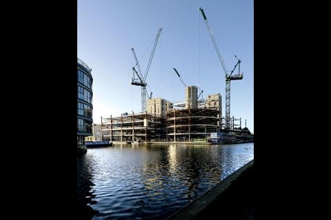 Construction Diary: October 2006 - Superstructure in steel and concrete